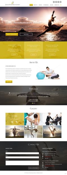 Web Design by pb for Dance Physiotherapy Sydney - Web design - Design #7046639