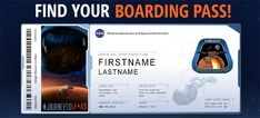 View and share your Boarding Pass and Frequent Flyer Points go.nasa.gov/InSightPass