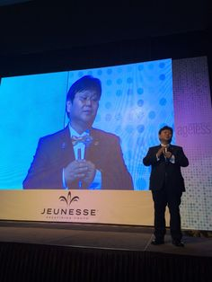 주네스글로벌 에이지리스 런칭행사에서 <Jeunesse compensation Plans>특강을 하는 김세우대표 www.sponsor.com