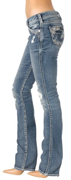 Silver Jeans Frances 22 Low Rise Flare Jean | Bottoms | Pinterest