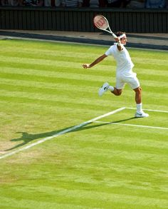 Federer magical #backhand