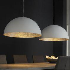 Mat witte hanglamp - Santa Carpa - Onlinedesignmeubel.nl
