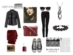 """""""Unbenannt #26"""" by sole-luna-91 ❤ liked on Polyvore featuring Fat Face, Nialaya, Max Studio, 7 For All Mankind, Converse, Yves Saint Laurent, Essie, Ray-Ban, Jewel Exclusive and Abercrombie & Fitch"""