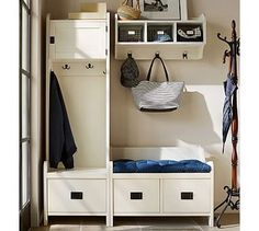 Mini mudroom: Just what I need for the muddy season on the ranch!