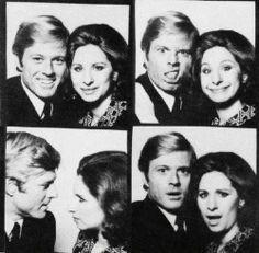 Barbra Streisand and Robert Redford! Celebrity Photobooth