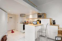 Amazing small white apartmentDesignblog | Designblog
