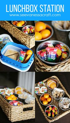 Back to School Lunchbox Station for Kids
