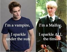 /* Edward VS Draco */  Obviously Malfoy win.
