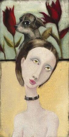 Love the melancholic gorgeous women portraits from Cassandra C. Barney. *** Liebe diese melancholischen wunderschönen Frauenporträts von Cassandra C. Barney.