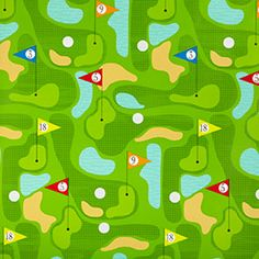 Golf Wrapping Paper. Love this!