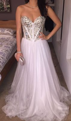Authentic Sherri Hill Mirror Prom Ball Gown 1434 Wedding Dress Size Uk 6 8 S Xs