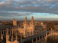 visitheworld:    All Souls College, Oxford University, England (by penwren).