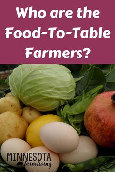 A very common term we hear is farm-to-table. But who exactly are the farm-to-table farmers? Can large farmers be farm-to-table? via @mnfarmliving