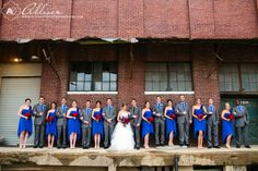 Mckinney Flour Mill Wedding, Texas