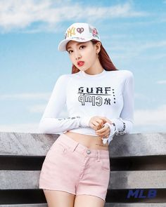 Read MLB from the story Fotos de Twice! Kpop Girl Groups, Korean Girl Groups, Kpop Girls, Mlb, K Pop Idol, Jimin, Nayeon Twice, Im Nayeon, Stage Outfits