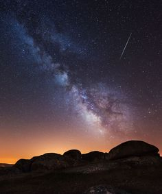 This year, NASA predicts that a rare Perseid meteor outburst could occur for the first time since Here's how and when to watch. Perseid Meteor Shower, Astrology Signs, Milky Way, Stargazing, Absolutely Stunning, Beautiful, Watch, Nasa, Hacks