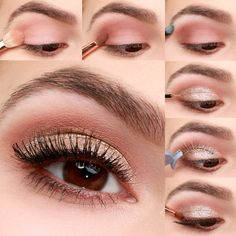 Glam up your look just in time for a romantic V-Day dinner, or girl's night out, with our Gold and Blush Valentine's Day Eye Makeup Tutorial!