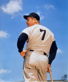BEISBOL 007: Mickey Mantle Beisbol de Nueva York