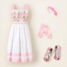 Adorable Easter dress for little girls