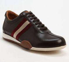Ben Affleck Wears Bally Freenew Brown Leather Sneakers   UpscaleHype