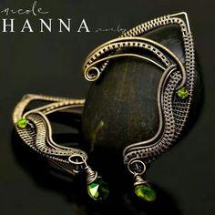 Art, Jewelry & Zentangle Ebooks by EniOken Wire Jewelry Earrings, Wire Jewelry Making, Jewelry Making Tutorials, Cuff Earrings, Wire Wrapped Jewelry, Stone Jewelry, Beaded Earrings, Jewelry Art, Jewelery