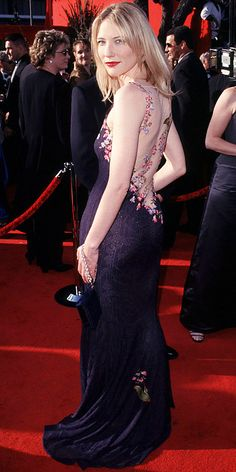 The Most Breathtaking Oscars Gowns - Cate Blanchett, 1999 from #InStyle