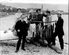 Catch of the day on Mackinac Island by William H. Gardiner