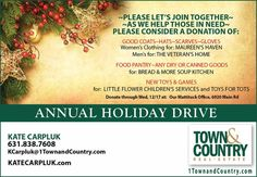 Let's Join Together As We Help Those in Need!