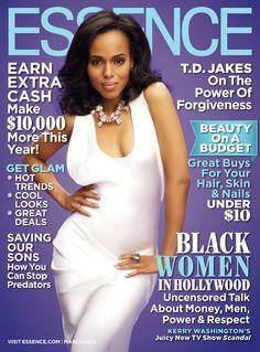 Kerry Washington Essence magazine March 2012