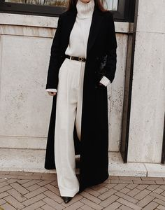 Long and oversized modedamour Indie Outfits, Classy Outfits, Chic Outfits, Fashion Outfits, Outfit Chic, Grunge Outfits, Looks Street Style, Looks Style, Fall Winter Outfits