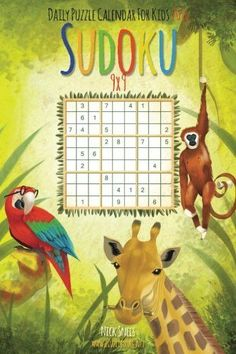 Daily Sudoku For Kids 9x9 Puzzle Calendar 2016 (Daily Sudoku For Kids Puzzle Calendar 2016)