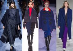 Blue Navy Aw17, Pantone, Catwalk, Autumn Fashion, Glamour, Navy, Womens Fashion, Trends, Blue
