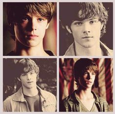 holy crap I didn't even realize that was Colin Ford and not just four pictures of Jared Padalecki