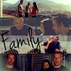 Brian O´Conner , Mia and Dom Toretto