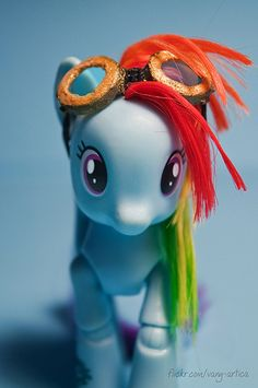 Handmade glasses for Dashie | da vanyrei