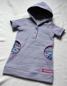 "robe F livre ""mademoiselle"" Kids Clothes Patterns, Sewing Kids Clothes, Sewing Dolls, Sewing For Kids, Baby Sewing, Clothing Patterns, Girls Blouse, Kids Fashion, Womens Fashion"