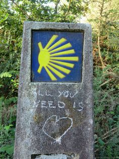 All you need is love! #caminofisterra