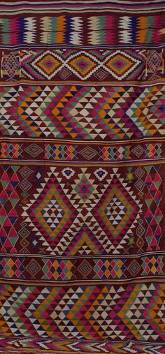 Algerian rug - and the colours! This can be one in your living room that makes it all.