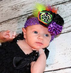 Sweet and Spooky Halloween Couture Headband by LaBandeauxBowtique, $12.00