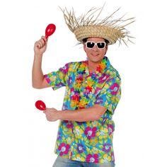 Hawaii blouse blauw voor heren. Hawaii of tropisch feestje? Bij Fun en Feest vind je de leukste Hawaii feestartikelen, kostuums en accessoires. Toppers Crazy Summer kleding tip!