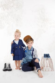 Fashion editorial for Hooaeg magazine. Style Kirsi Altjoe SIYS kids blog www.sandinyourshortskidsblog.com Saara in Mayoral and Hans rocking in Billy Bandit, Timberland and Pepe Jeans