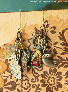 charming boho gypsy earrings... slightly by ChristinesCabinet