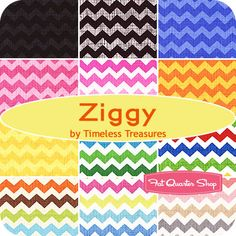 Ziggy Fat Quarter Bundle Timeless Treasures Fabrics - Fat Quarter Shop