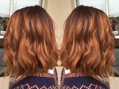 It's pumpkin spice everything, including pumpkin spice hair this time of year.