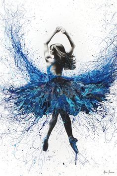York Crystal Dance by Ashvin Harrison is printed with premium inks for brilliant color and then hand-stretched over museum quality stretcher bars. Money Back Guarantee AND Free Return Shipping. Ballet Painting, Dance Paintings, Ballet Art, Acrylic Paintings, Dancing Drawings, Art Drawings, Ballet Drawings, Tanz Poster, Ballerina Kunst