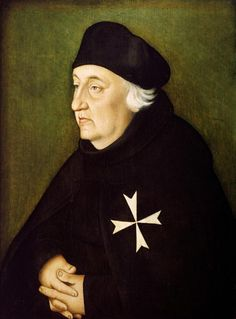 Hans Baldung Grien  Knight of the Order of Malta   1534