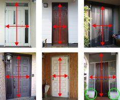 「玄関 ドア 寸法」の画像検索結果