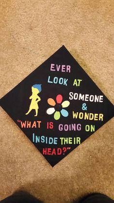 Inside Out Graduation Cap