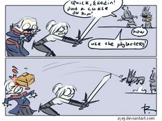 The Witcher 3, doodles 280 by Ayej