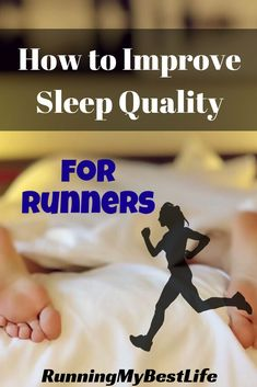 As runners, we can't afford to be sleep deprived. The physical stress of running requires more rest. Use these 9 tips to improve sleep quality for runners. #running #sleep #runningtips